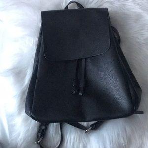 NEW LISTING! Zara Drawstring Black Backpack